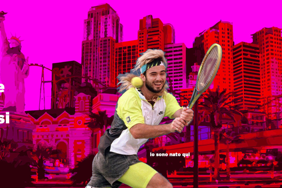 Proposal characters: Andre kirk Agassi